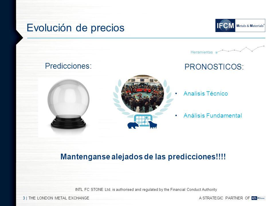 Mantenganse alejados de las predicciones!!!!