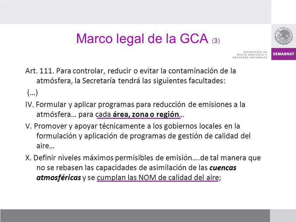 Marco legal de la GCA (3)