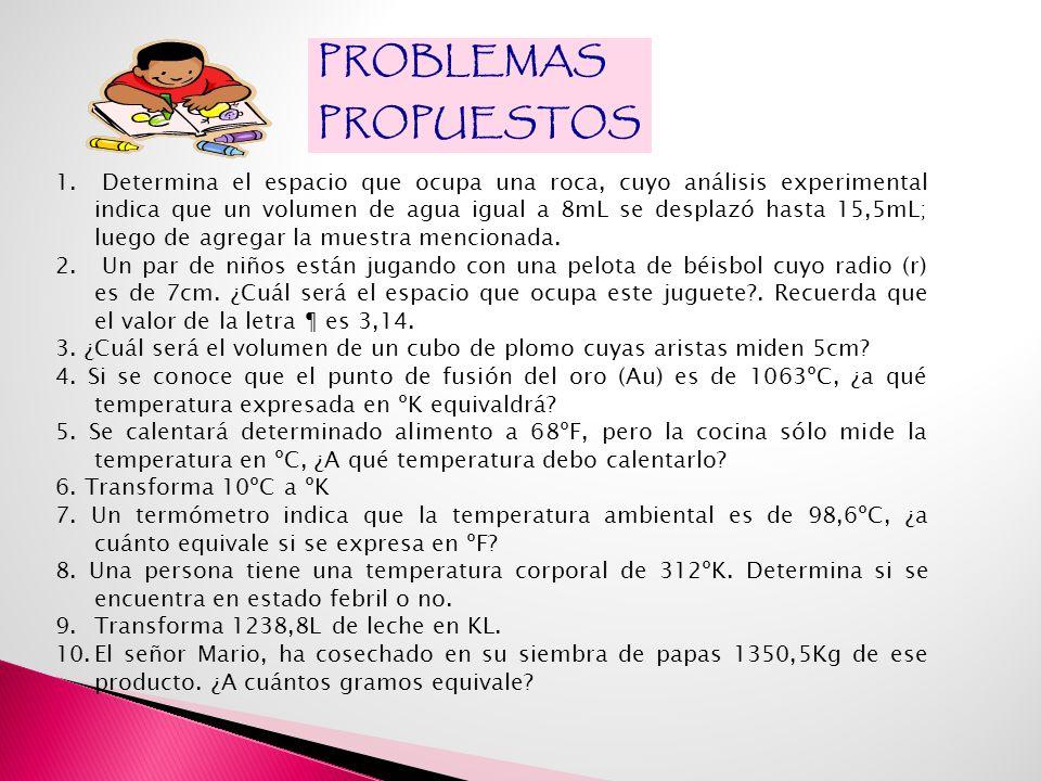 PROBLEMAS PROPUESTOS.