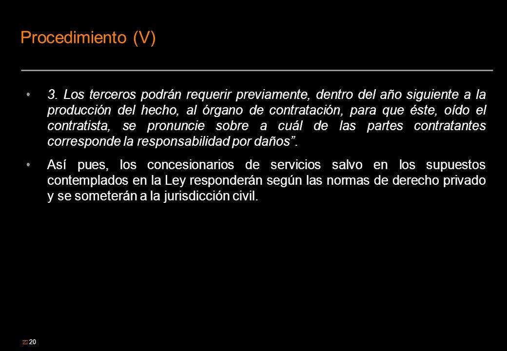 Procedimiento (V)