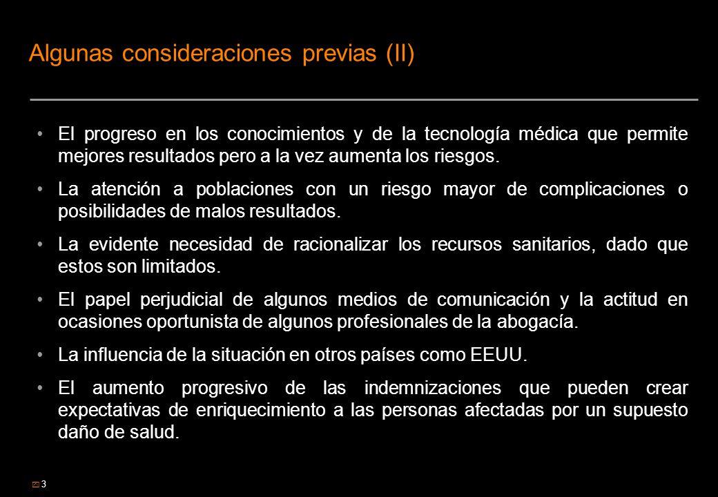Algunas consideraciones previas (II)