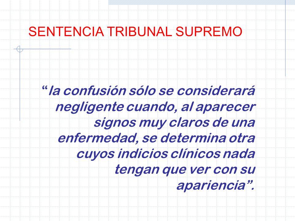 SENTENCIA TRIBUNAL SUPREMO