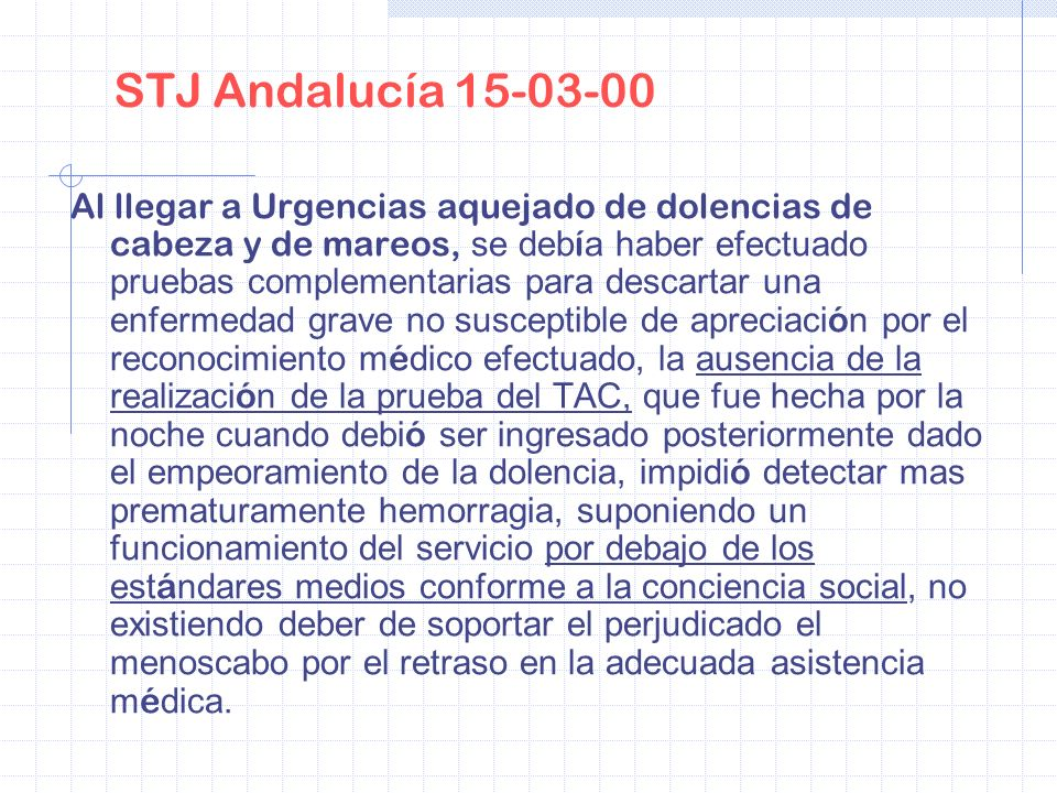 STJ Andalucía 15-03-00