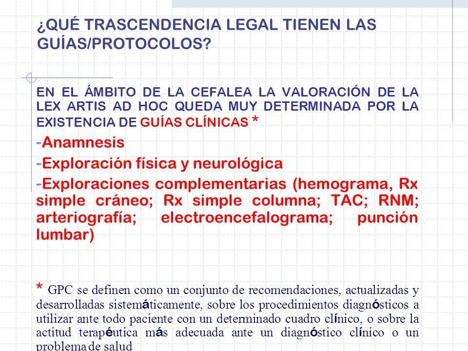 ¿QUÉ TRASCENDENCIA LEGAL TIENEN LAS GUÍAS/PROTOCOLOS