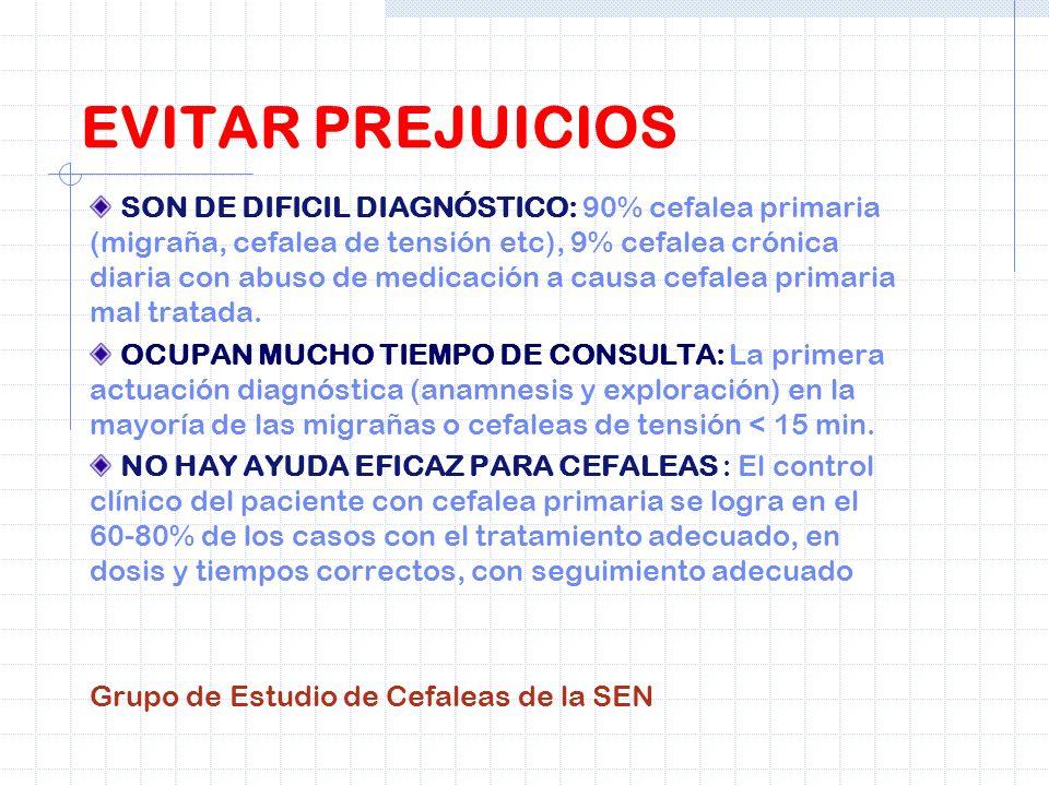 EVITAR PREJUICIOS