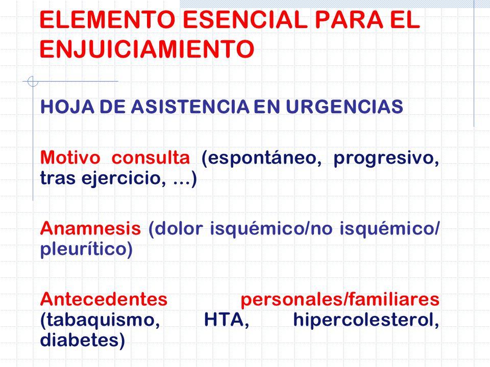 ELEMENTO ESENCIAL PARA EL ENJUICIAMIENTO