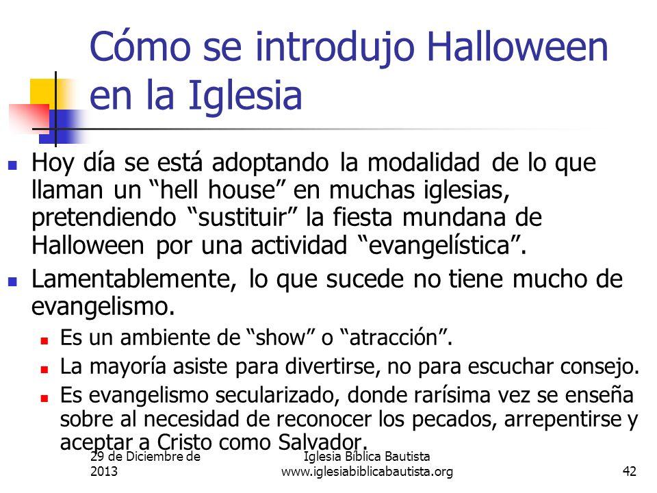 Cómo se introdujo Halloween en la Iglesia