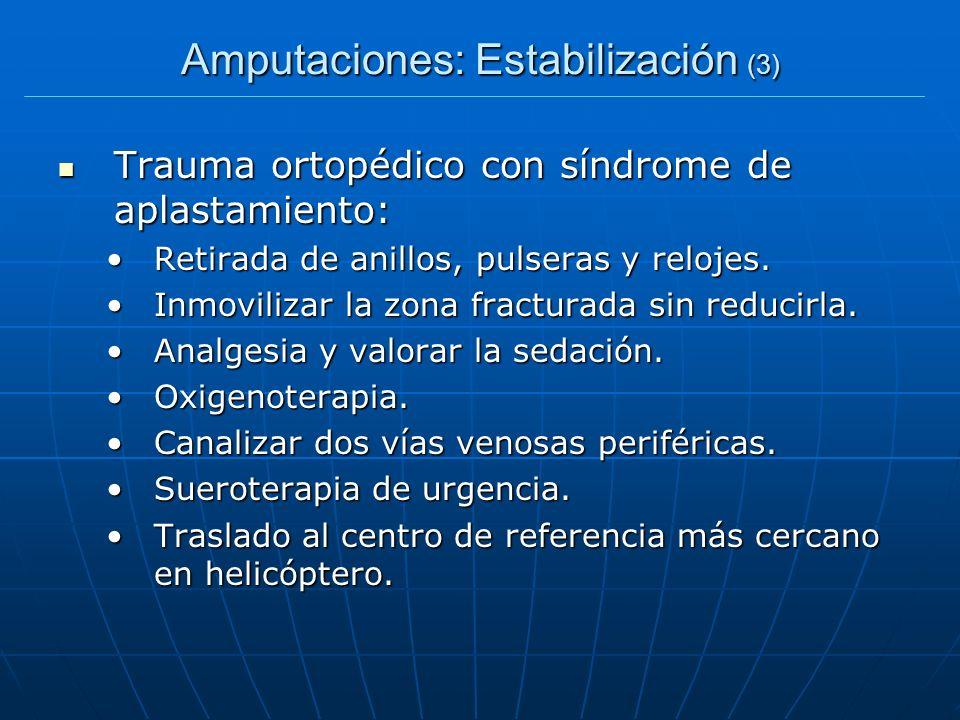 Amputaciones: Estabilización (3)