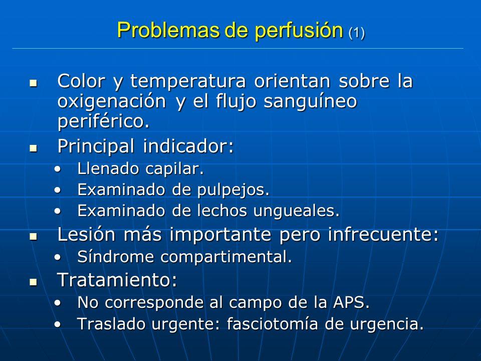 Problemas de perfusión (1)