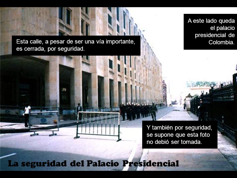 La seguridad del Palacio Presidencial