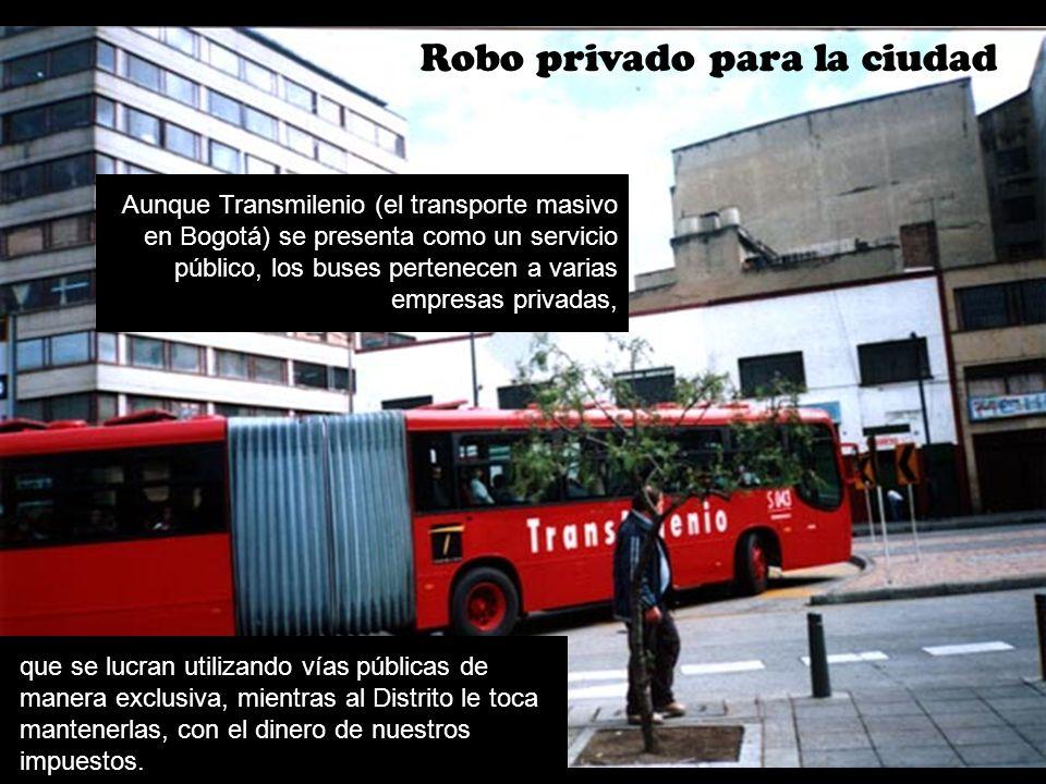 Robo privado para la ciudad