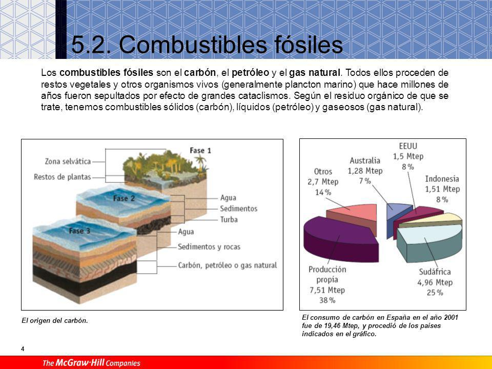 5.2. Combustibles fósiles