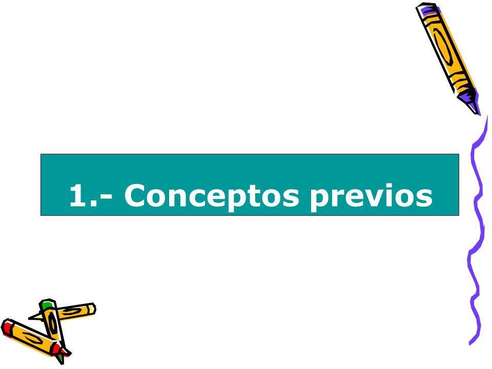 1.- Conceptos previos