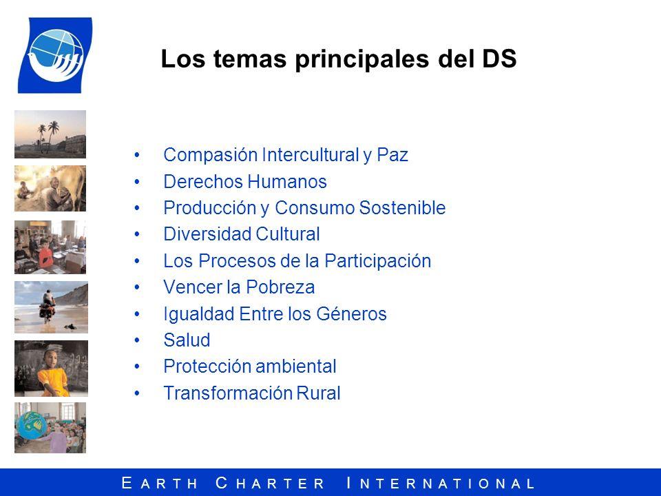 Los temas principales del DS