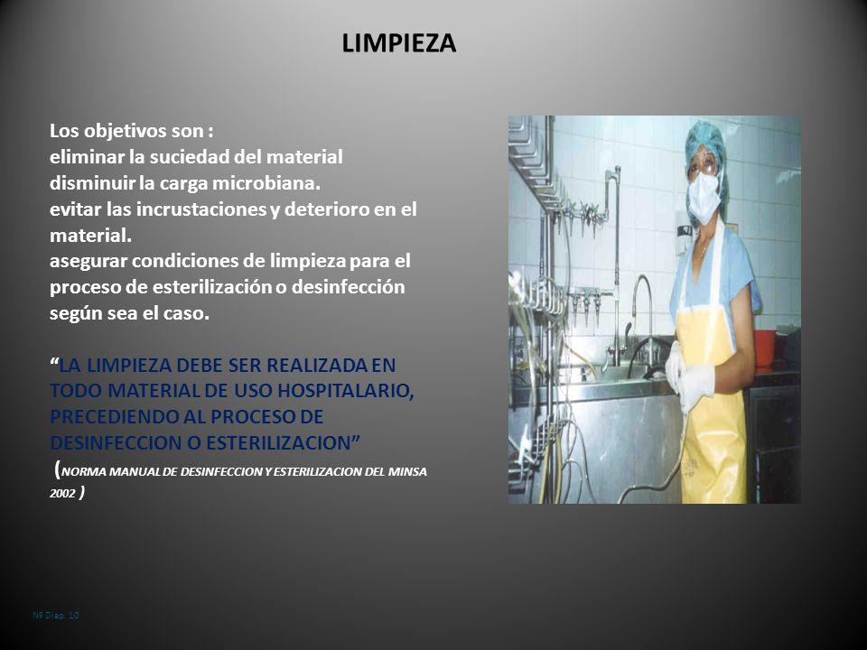 Unidad tem tica 1 6 esterilizacion y desinfeccion ppt for Manual de limpieza y desinfeccion en restaurantes