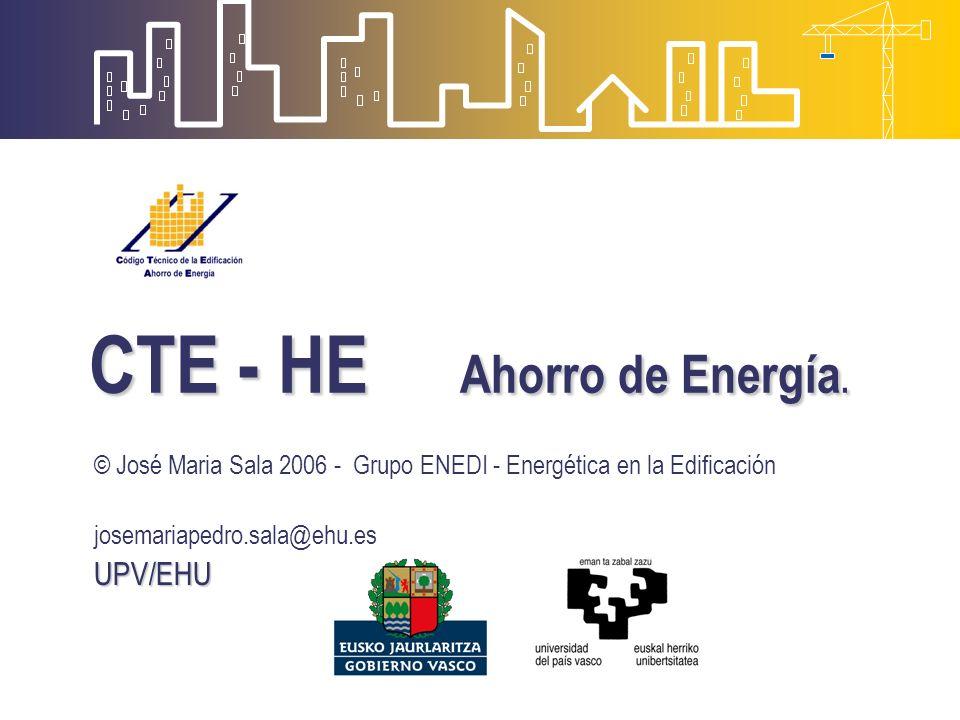 CTE - HE Ahorro de Energía.