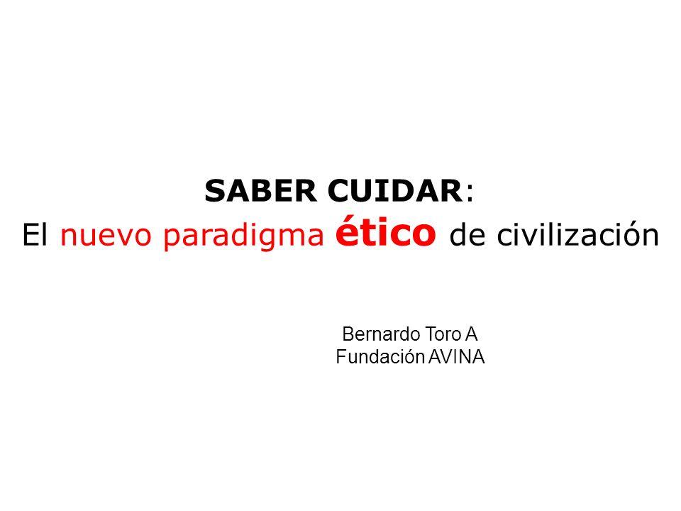 El nuevo paradigma ético de civilización