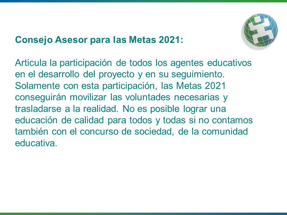 Consejo Asesor para las Metas 2021: