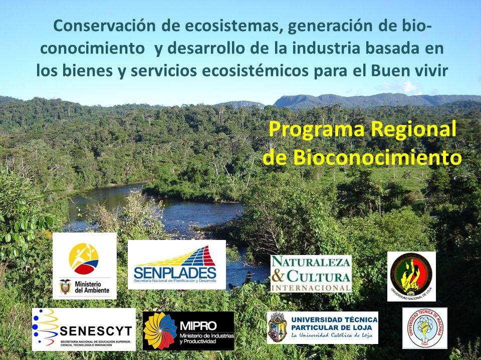 Programa Regional de Bioconocimiento