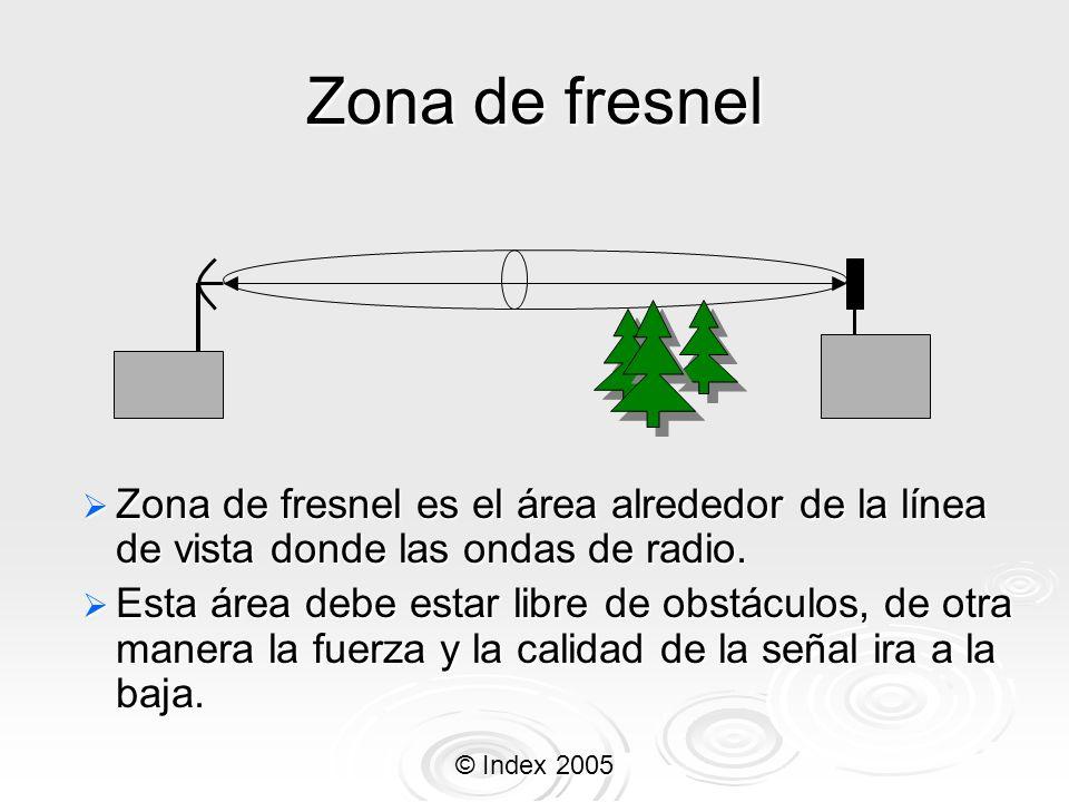 Zona de fresnel Zona de fresnel es el área alrededor de la línea de vista donde las ondas de radio.