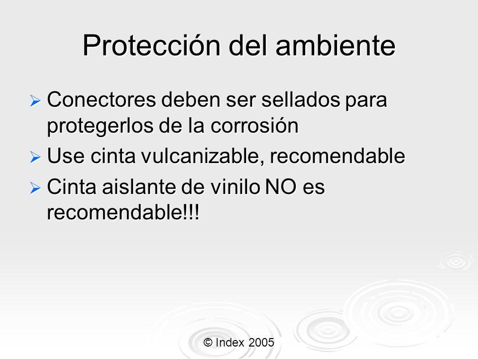 Protección del ambiente