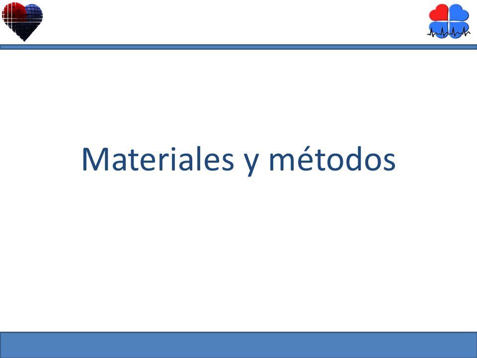 Materiales y métodos Mayo 2010