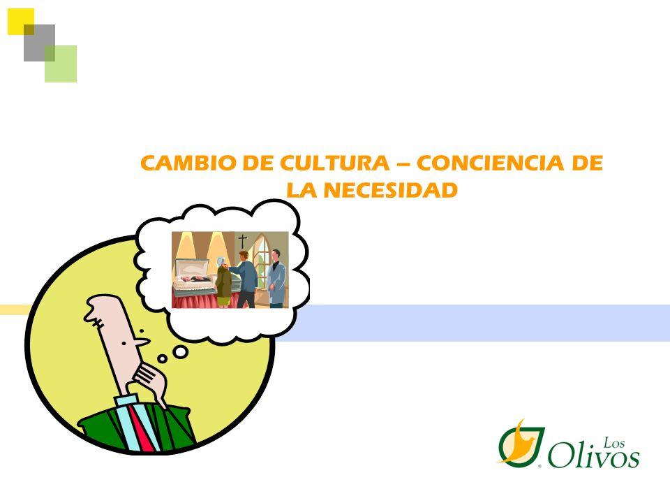 CAMBIO DE CULTURA – CONCIENCIA DE LA NECESIDAD