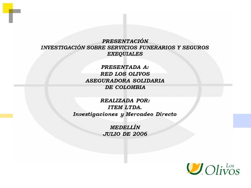 ASEGURADORA SOLIDARIA DE COLOMBIA REALIZADA POR: ITEM LTDA.