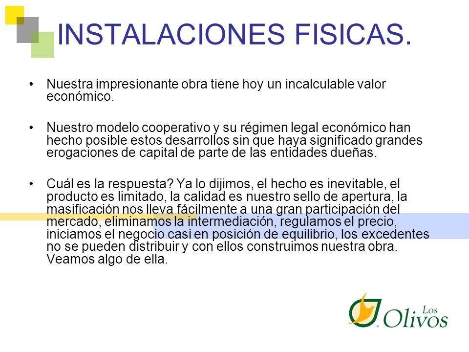 INSTALACIONES FISICAS.