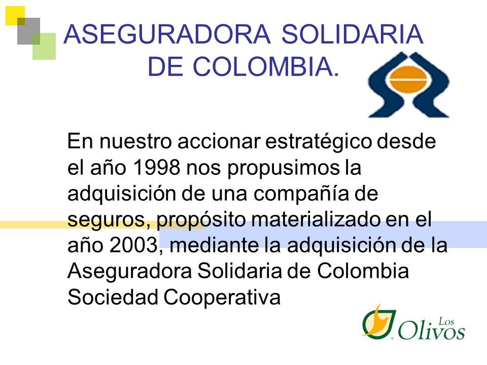 ASEGURADORA SOLIDARIA DE COLOMBIA.
