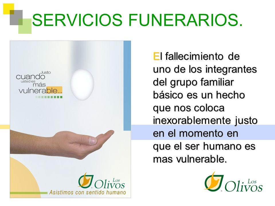 SERVICIOS FUNERARIOS.