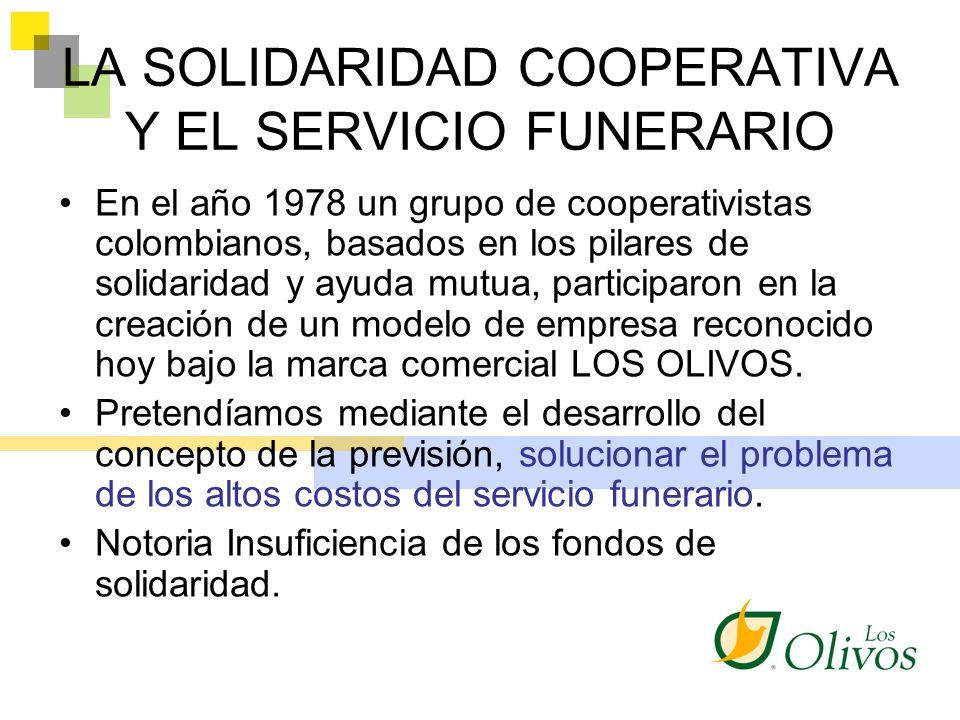 LA SOLIDARIDAD COOPERATIVA Y EL SERVICIO FUNERARIO