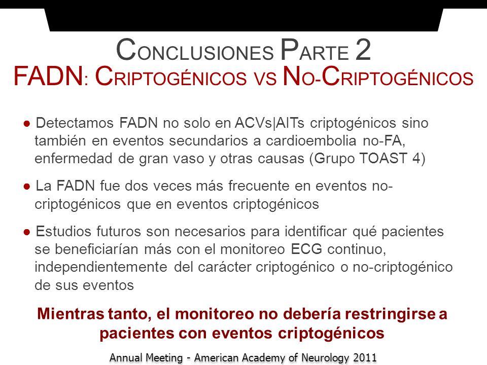 CONCLUSIONES PARTE 2 FADN: CRIPTOGÉNICOS VS NO-CRIPTOGÉNICOS