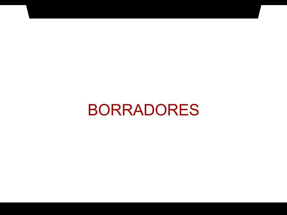 BORRADORES