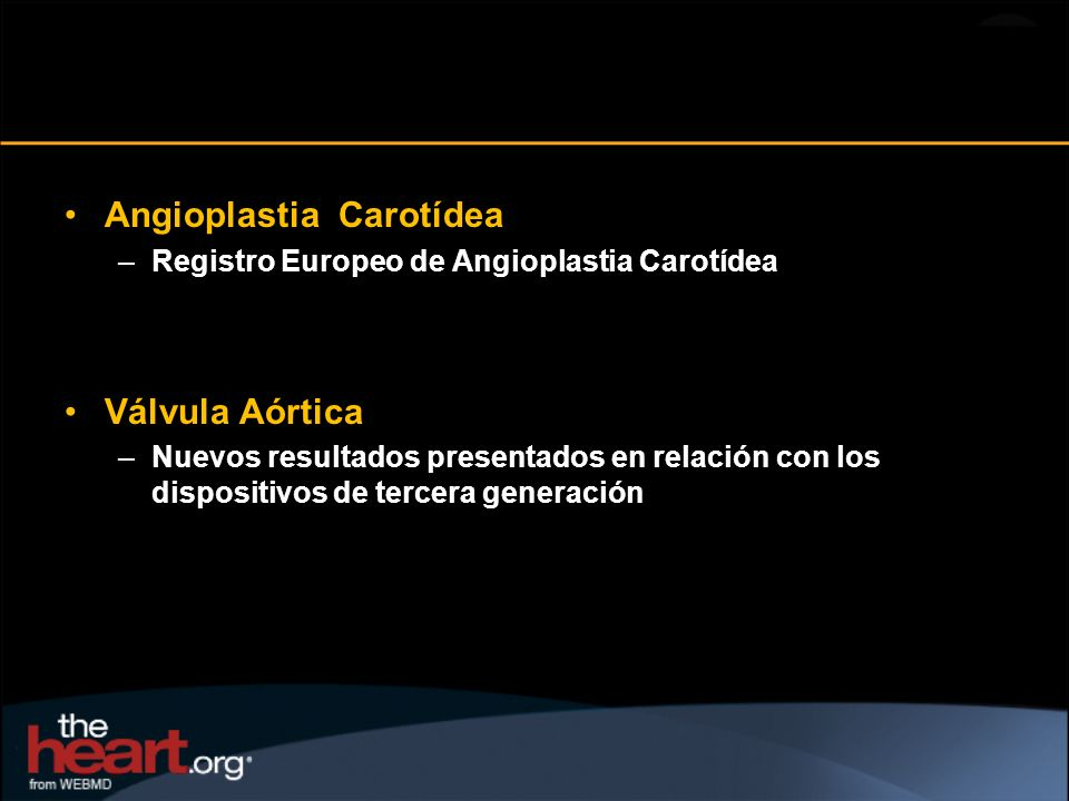 Angioplastia Carotídea