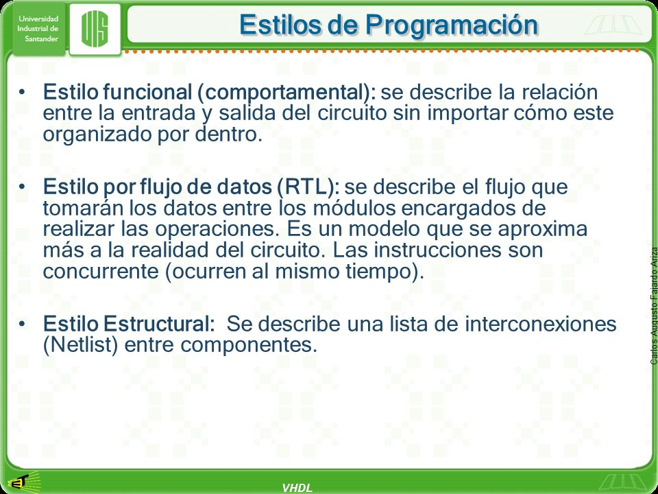 Estilos de Programación