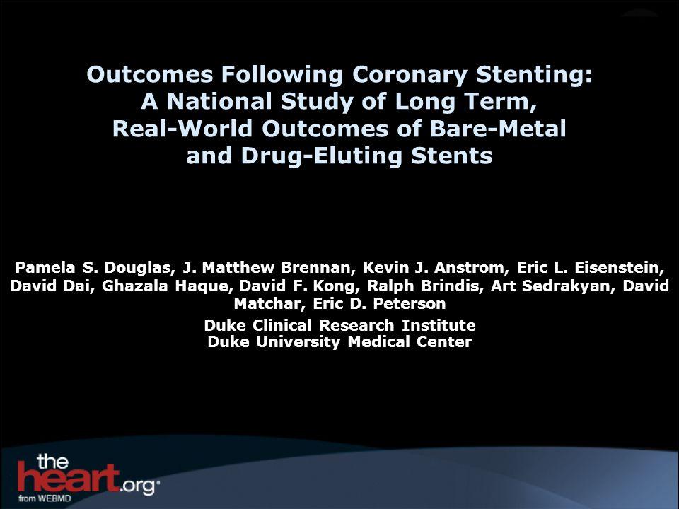 Duke Clinical Research Institute Duke University Medical Center