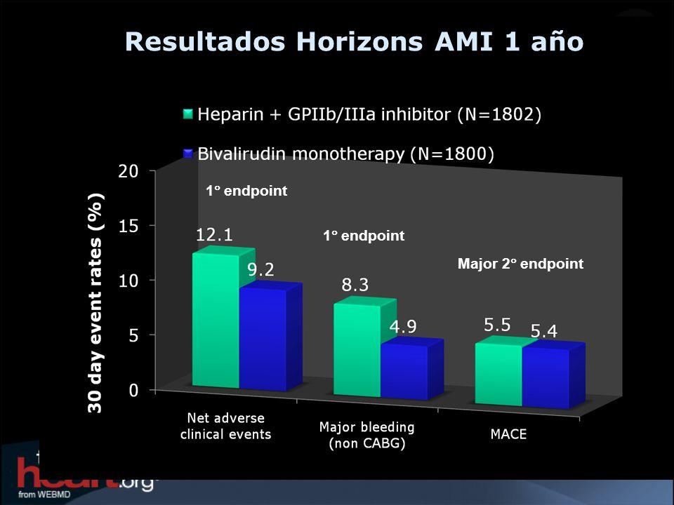 Resultados Horizons AMI 1 año