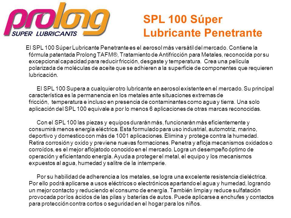 SPL 100 Súper Lubricante Penetrante