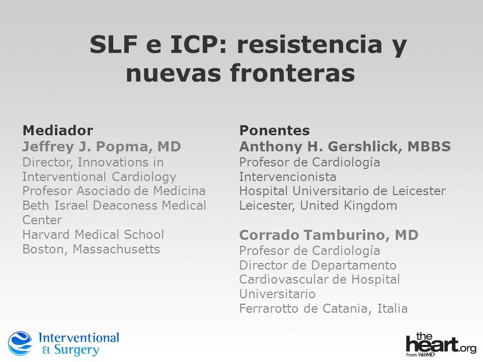 SLF e ICP: resistencia y nuevas fronteras