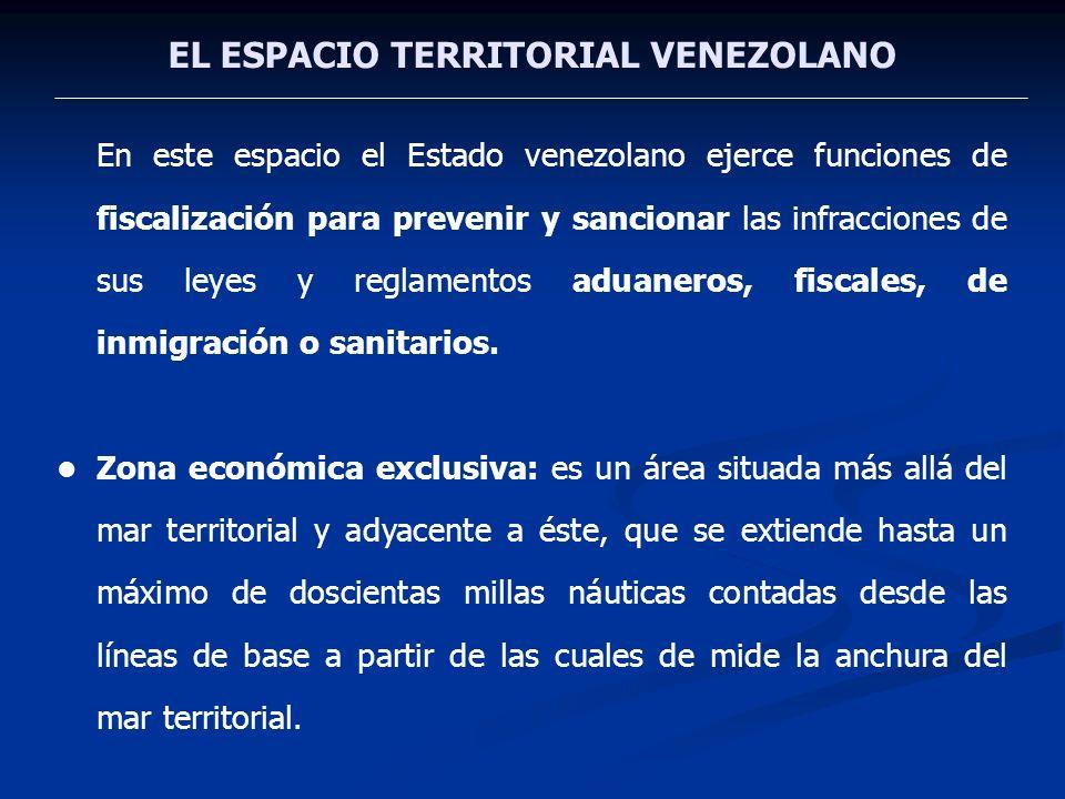 EL ESPACIO TERRITORIAL VENEZOLANO