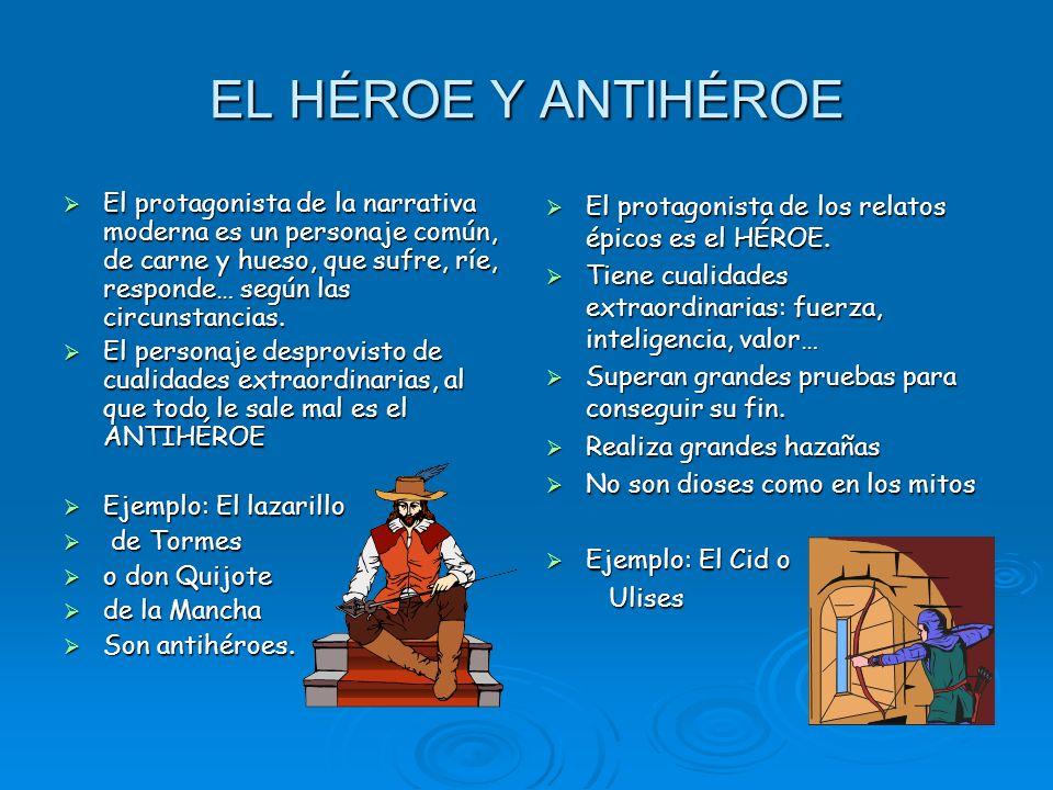 EL HÉROE Y ANTIHÉROE