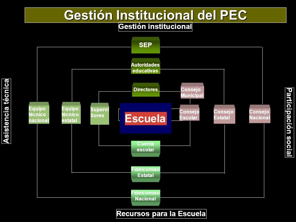 Gestión Institucional del PEC