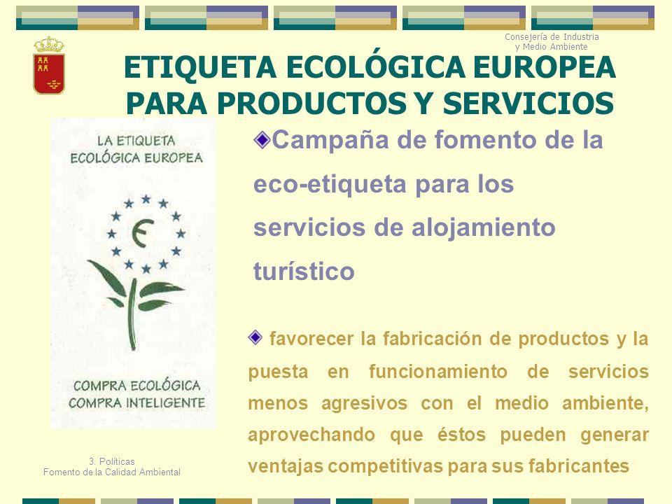 ETIQUETA ECOLÓGICA EUROPEA PARA PRODUCTOS Y SERVICIOS