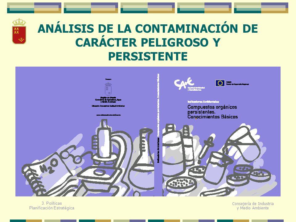 ANÁLISIS DE LA CONTAMINACIÓN DE CARÁCTER PELIGROSO Y PERSISTENTE