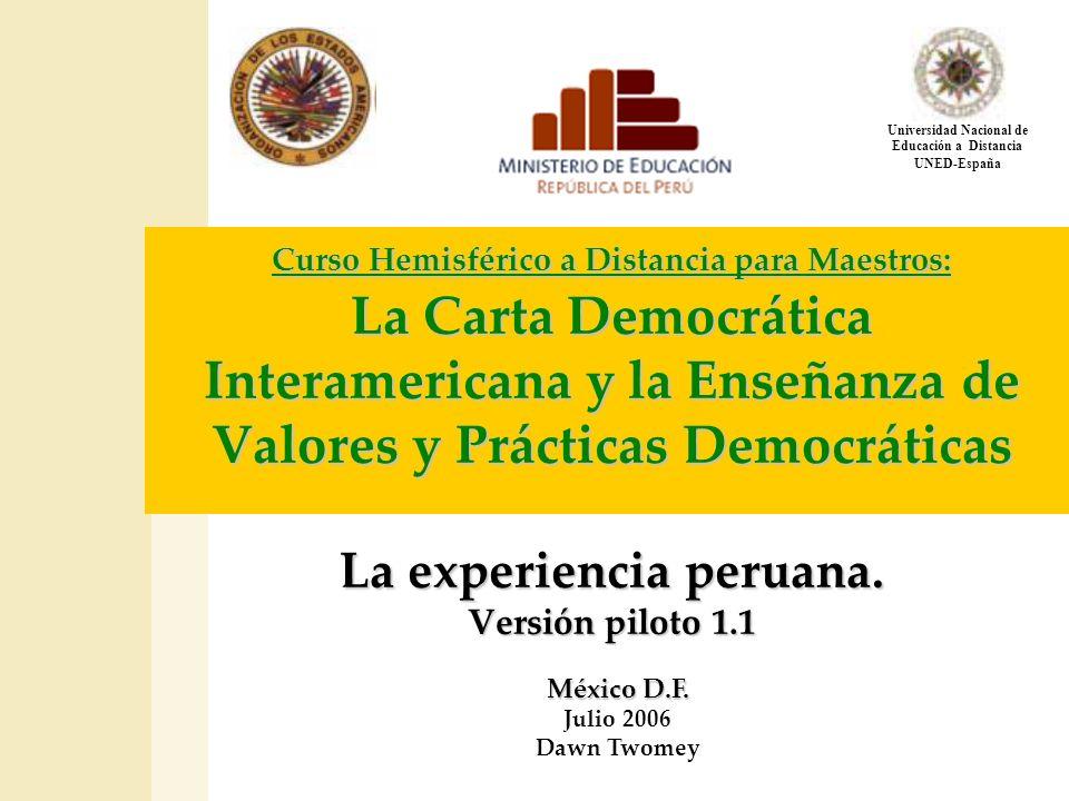 Universidad Nacional de Educación a Distancia UNED-España