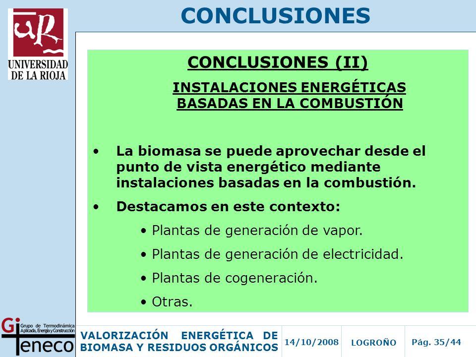 INSTALACIONES ENERGÉTICAS BASADAS EN LA COMBUSTIÓN