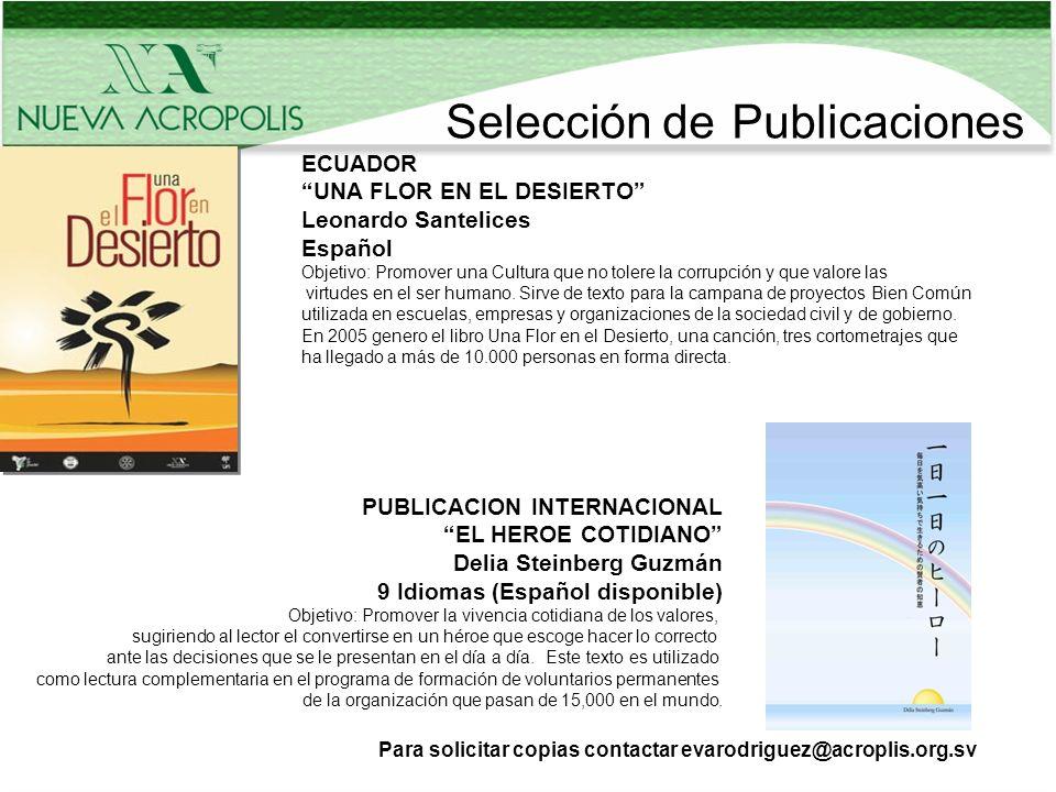 Selección de Publicaciones