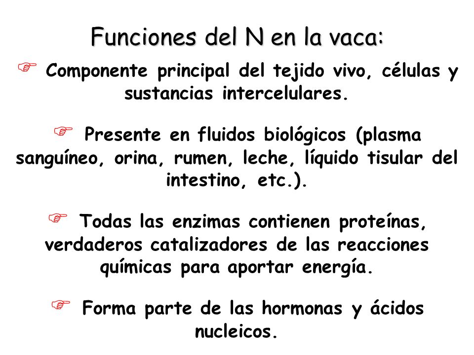 Forma parte de las hormonas y ácidos nucleicos.