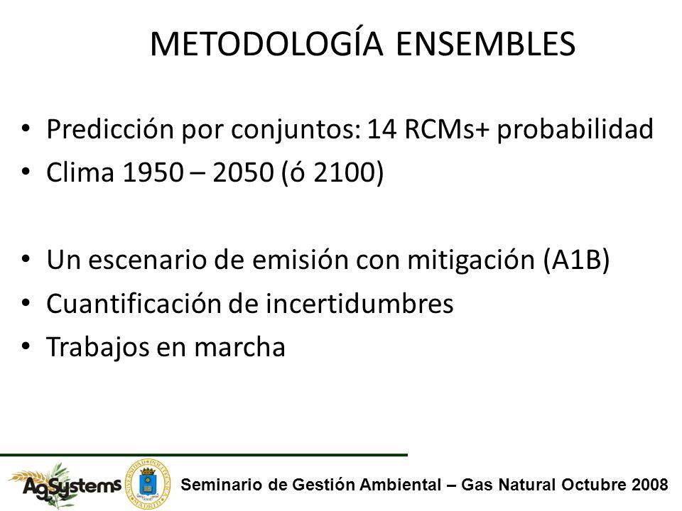 METODOLOGÍA ENSEMBLES